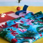 Artistic colorful shirt photo honoring David Hockney