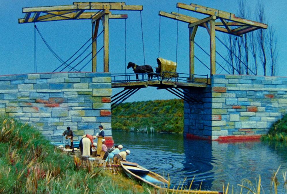 Van Gogh frame took from Kurosawa film on huinca blog shirt