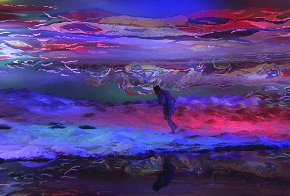 Painting storyboard token from Lurosawa´s film Kaguemusha on huinca blog art