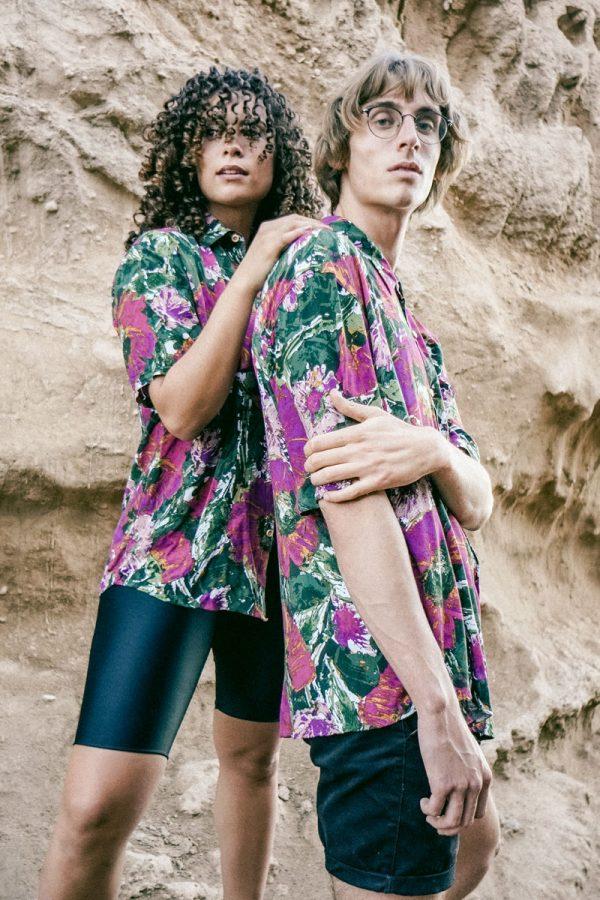 summer-retro-photo-printed-shirt